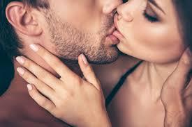 pocałunek z języczkiem